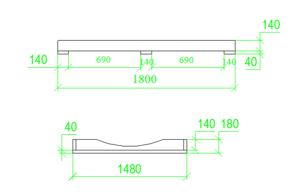 2m Igloo Sauna Base Sketch