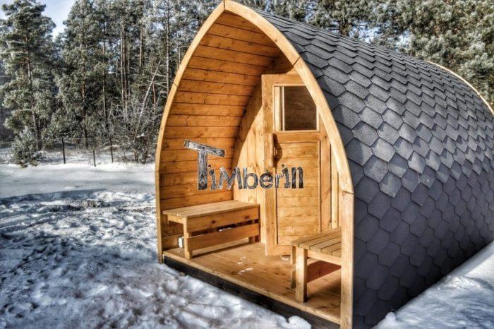 billig udendørs sauna