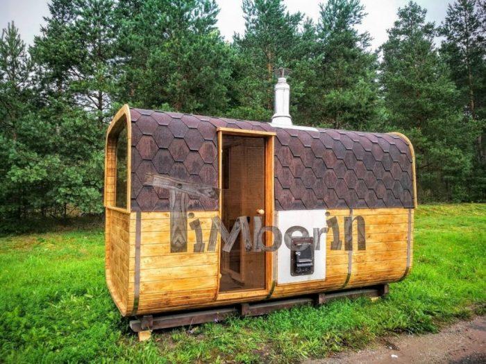 køb udendørs sauna