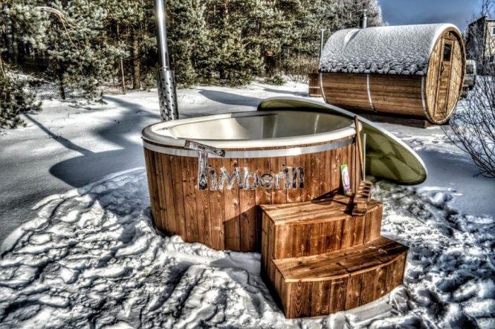 Vildmarksbad 8 Personer Vinter