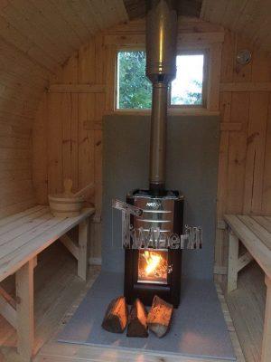 Udendørs Sauna Barrel Thermowood