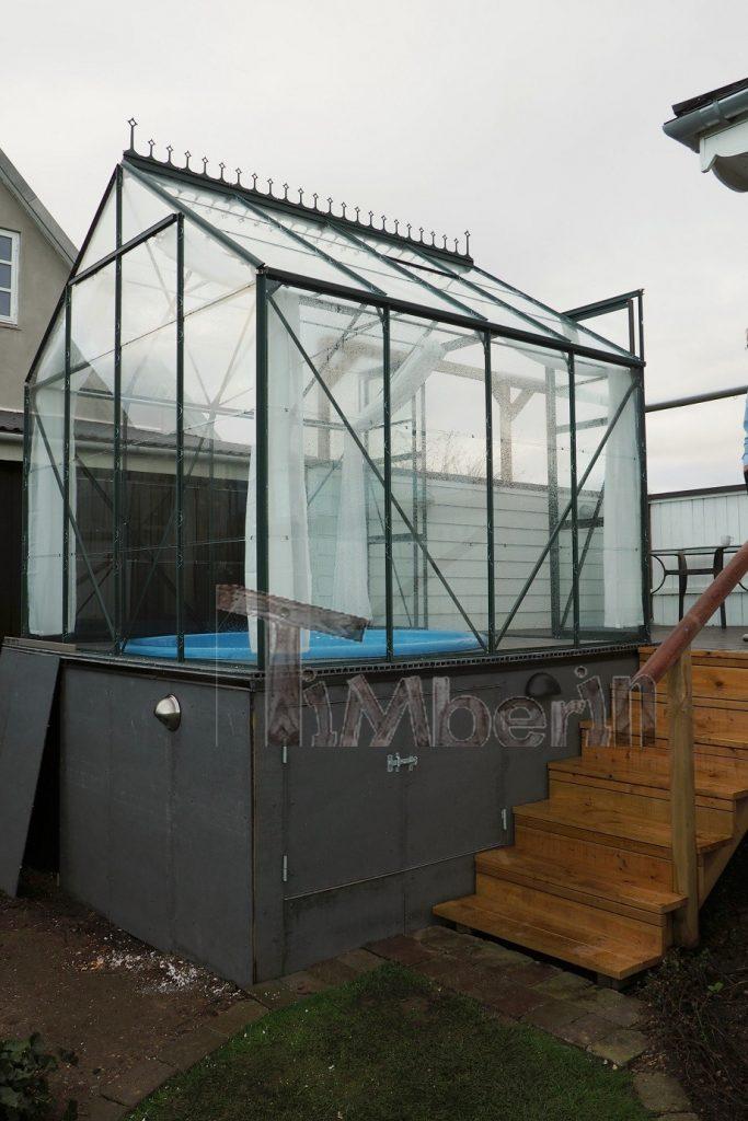 Vildmarksbad i Glasfiber Terrasse Til Indbygning, Jan, Ferritslev Fyn, Danmark (3)