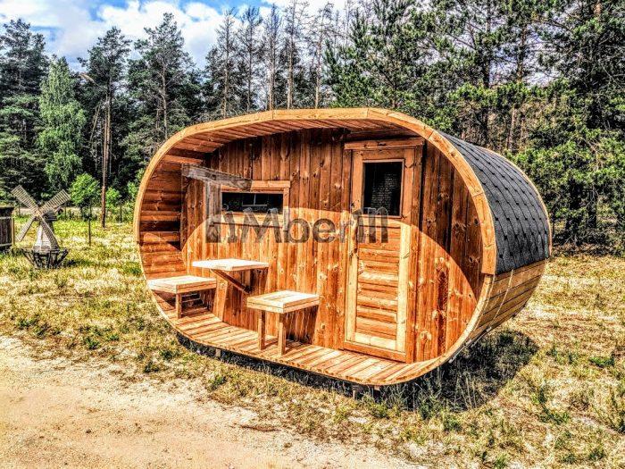 udendørs sauna tønde
